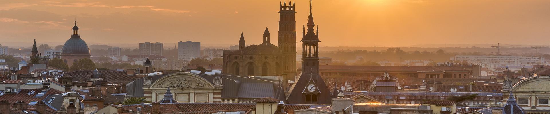 Toulouse jour de nuit