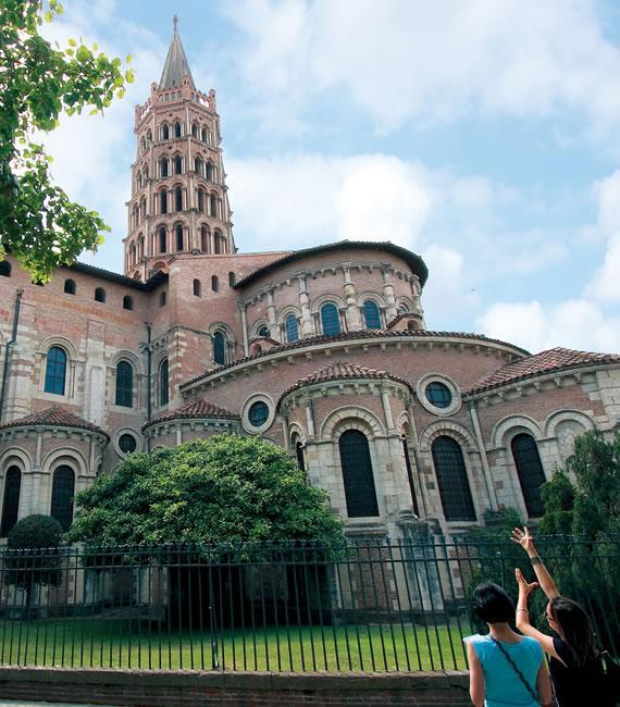 La basilique Saint-Sernin