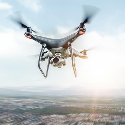 Le réseau Drone sur Toulouse